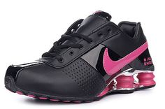 pink and black :) i realllllllly want these!