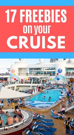 You CAN cruise without paying extra for tons of things on your cruise ship. Here are the 17 free things you'll find on most cruise ships! Perfect for families cruising or anyone who wants to stay on budget or save money while cruising. Bahamas Cruise, Cruise Port, Cruise Travel, Cruise Vacation, Disney Cruise, Carnival Cruise Bahamas, Honeymoon Cruise, Shopping Travel, Vacation Deals