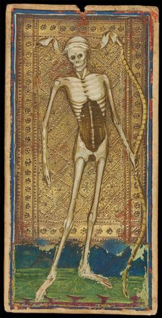 What Are Tarot Cards? Made up of no less than seventy-eight cards, each deck of Tarot cards are all the same. Tarot cards come in all sizes with all types of artwork on both the front and back, some even make their own Tarot cards Memento Mori, Vanitas, Tarot Death, La Danse Macabre, Art Ancien, Strange History, History Facts, Tarot Readers, Major Arcana