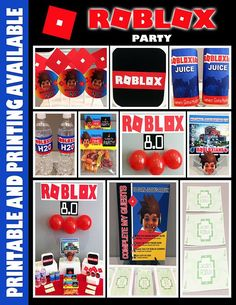 297 Best Roblox Birthday Party Ideas Images In 2020 Roblox