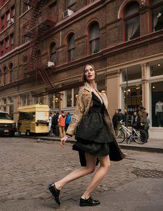 Fashion photography by Alena Saz Major Models, City Fashion, City Style, Soho, Fashion Photography, Magazine, Jackets, Dresses, Urban Style