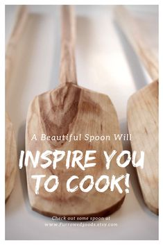 All kinds of different cooking spoons made solely from locally salvaged lumber Cooking Spoon, Wooden Spoons, Kitchenware, Hand Carved, Cottage, Carving, My Style, Decor, Decoration