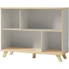 Les meubles de bureau Andria offrent design et modularité. Ses lignes scandinaves en font une sélection de meubles faciles à intégrer dans tout type d'intérieur. La combinaison des couleurs gris pierre et chêne de Navarre lui confère un design exclusif et de haute qualité. Les façades super mates so