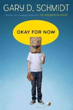 Okay for now by Gary Schmidt.  Click the cover image to check out or request the teen kindle.