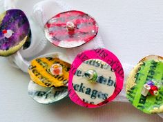 Kelli Nina Perkins: Paper Button Tutorial