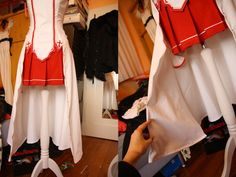 Cosplay Manga Costume Image - Okay, I know the last entry was millions of years ago, but there were some really big things going on. Beside all the costume work I had to do I managed to get the most awesome internship on this p… Asuna Cosplay, Cosplay Diy, Cosplay Ideas, Cosplay 2016, Anime Cosplay, Kirito Sword Art Online, Sword Art Online Cosplay, Art Costume, Diy Costumes