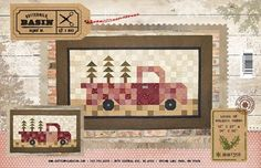 Loads of Holiday Cheer -A patchwork truck-how cool!