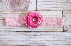 Pink Pink and more Pink  headband by SoTweetDesigns on Etsy, $3.50