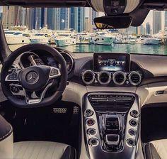 Mercedes AMG GTS Interior.