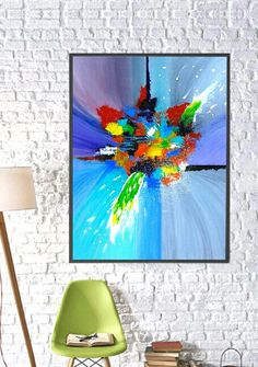 "Acrylic Abstract Painting ""CELEBRATION 2.0"" by Tari"