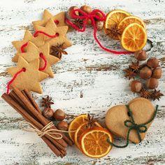 Guirlanda de Natal com doces