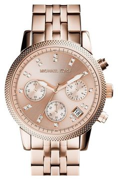 e6756290a4f3 Details about Michael Kors Ritz Ladies Watch MK6077│Chronograph Dial│Rose  Gold Bracelet Band