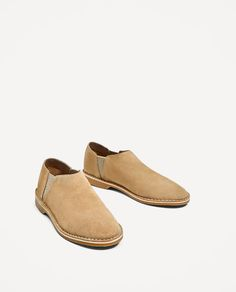 ZARA - WOMAN - JOIN LIFE FLAT LEATHER SHOES