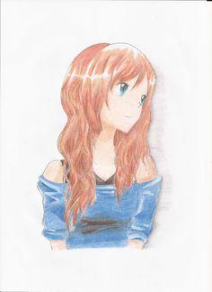 Anime girl_la llamo May podría hacer mi propio comic con la historia que tengo en mente así que iré haciendo mas XD
