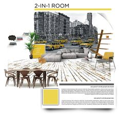 """Apartment 25 ♥"" by morana-m on Polyvore featuring interior, interiors, interior design, home, home decor, interior decorating, Umbra, TradeMark and Cherner Chair Company"