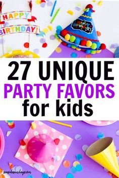 Unique goodie bag ideas for birthday parties! I LOVE these cheap and fun party favors for kids! If you are stuck for great goody bag ideas, check out this list of fun ideas for girls and boys of all ages! Kids Birthday Themes, Party Favors For Kids Birthday, Summer Birthday, Birthday Games, Boy Birthday Parties, Girl Birthday, Birthday Recipes, Husband Birthday, Birthday Decorations
