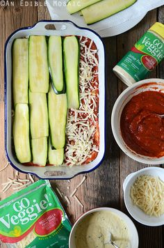 No-Noodle Zucchini Lasagna Vegetarian & Lactose-Free. A pasta-free meal for pasta lovers that's sure to satisfy even the most hardcore carb cravings!
