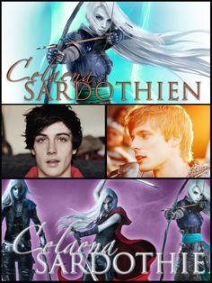 Collage including celanea Dorian and chaol. Sarah J Maas Books, Queen Of Everything, Throne Of Glass Series, Crescent City, Best Series, Collage, Stars, Collages, Sterne