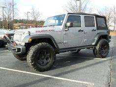 Used 2014 Jeep Wrangler Unlimited Rubicon 4x4 For Sale near Atlanta & Alpharetta GA | Stock: 98976B
