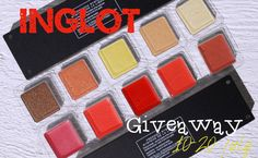 Giveaway by Ami Beauty Unearthly - INGLOT / Розыгрыш у Ами часть III ИНГЛОТ http://beautyunearthly.blogspot.com/2014/07/giveaway-by-ami-beauty-unearthly-inglot.html