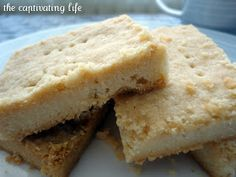 Easy Shortbread Cookies! 4 ingredients!