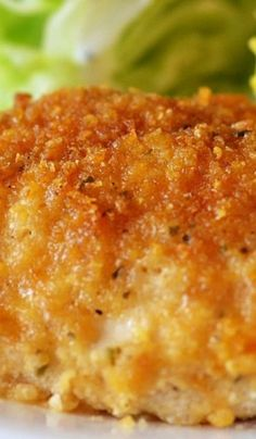Crispy on the outside, moist on the inside, flavorful Ranch chicken. This is a family-favorite! Crispy on the outside, moist on the inside, flavorful Ranch chicken. This is a family-favorite! Think Food, I Love Food, Good Food, Yummy Food, Tasty, Turkey Recipes, Meat Recipes, Cooking Recipes, Recipies