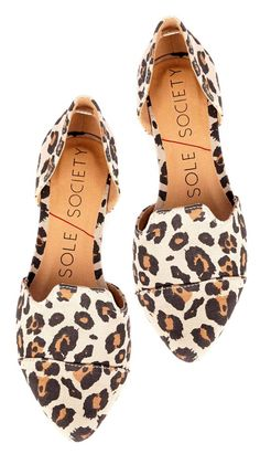 Loving these Leopard Flats! The perfect shoes for so many occasions!