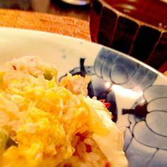 姫さま、寝ながら食べながら泣いてます。器用だね〜(⌒-⌒; ) - 14件のもぐもぐ - 今晩は姫さまも食べられる親子丼でした。 by Puffi3037