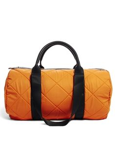 Image 1 ofASOS Holdall Bag With Nylon Quilting