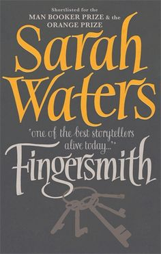 Fingersmith by Sarah Waters. Only trouble with finishing this is that I only have one more Waters book to read (Tipping the Velvet)