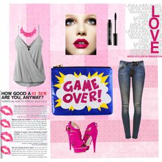 Game Over! by pauvane on Polyvore featuring moda, Anine Bing, George J. Love and Lord & Berry