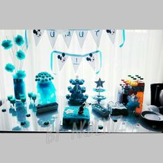 Mickey mouse birthday party diy