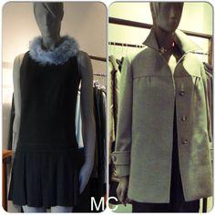 Con un abrigo gris, siempre luciréis  elegantes y sofisticadas. Pero  si quieres sacar partido a esta prenda en  ocasiones formales, apostar  por llevarlo con un look total black,  elegir desde un sencillo vestido negro hasta la combinación de blusa con falda o pantalón, todas las opciones son válidas.