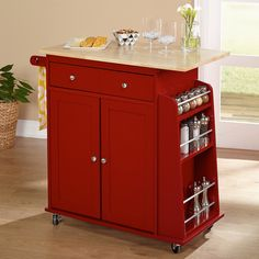 Kitchen Carts: Use kitchen carts to make meal preparation and service more convenient. Free Shipping on orders over $45 at Overstock.com.