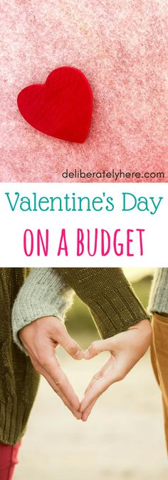Celebrate Valentine's Day on a Budget. Don't break the bank this Valentine's Day.