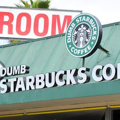 """Host of Comedy Central's """"Nathan for you"""" outed as owner of """"Dumb Starbucks."""" This guy is hilarious"""