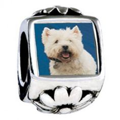 West Highland Terrier European Charms  Fit pandora,trollbeads,chamilia,biagi and any customized bracelet/necklaces. #Jewelry #Fashion #Silver# handcraft #DIY #Accessory