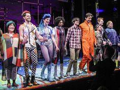 Matt Doyle, Nick Cordero, Nicolette Robinson and the cast of BROOKYLNITE