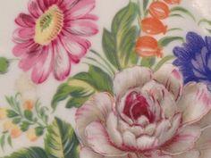Plaque Gâteau Français Limoges Motif Floral Gilt Céramique Porcelaine Poterie Cerclées   eBay