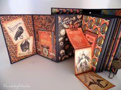 Steampunk Spells Mini Album page 1