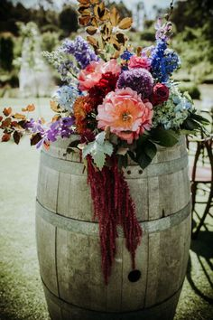 Vibrant Jewel Tone Wedding at Core Cider House Trendy Wedding, Unique Weddings, Boho Wedding, Floral Wedding, Summer Wedding, Rustic Wedding, Dream Wedding, Beach Weddings, Elegant Wedding