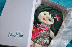 NinuMilu - torebki lalki - handbag dolls for girls: Podróż Cukiereczka