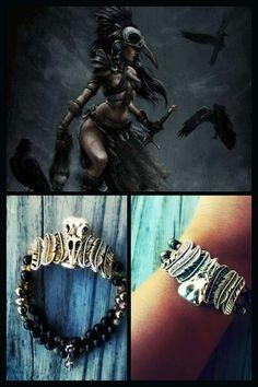 MORRIGAN Bracelet  etsy.com/shop/primordialbang