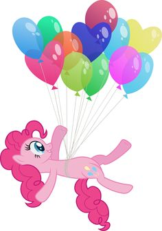 Floating Pinkie Pie by Stabzor.deviantart.com on @deviantART