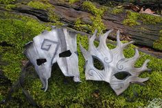 pretty romantic medieval style masks , how great would these be to wear for a woodland fairytale wedding grimm and fairy costume fantasy fashion Dryad and Treent by savagedryad on DeviantArt