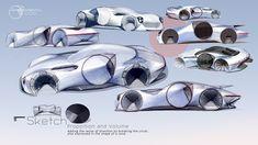 Porsche on Behance Car Sketch, Transportation Design, Automotive Design, Industrial Design, Porsche, Adobe Photoshop, Sketches, Concept, Behance