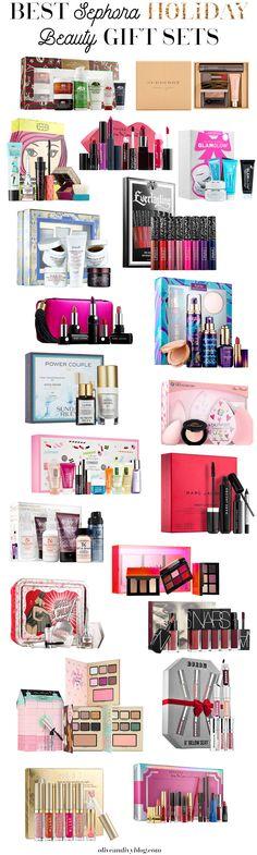 The BEST Sephora holiday beauty gift sets for 2016!! | oliveandivyblog.com