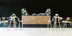 Custom bar for Kate + Nick's - Event Design + The Style Co.