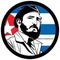 Fidel Castro Vector Tribute