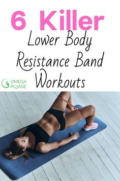 Resistance bands are a great way to get a lower body workout in wherever you are. You can use them in a gym, outdoors, or in the comfort of your home. Here are some great booty exercise that will build and tone your butt. Resistance Workout, Resistance Band Exercises, Glute Exercises, Body Workout At Home, At Home Workouts, Lower Ab Workouts, Band Workouts, Workout Tips, Inner Leg Workouts